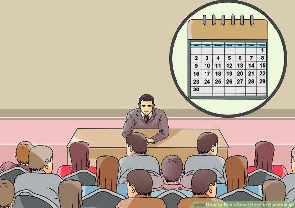 tổ chức các cuộc họp nhân viên thường xuyên