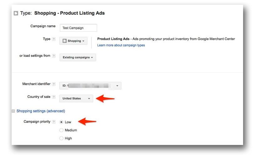 Đặt tên cho chiến dịch Google Shopping