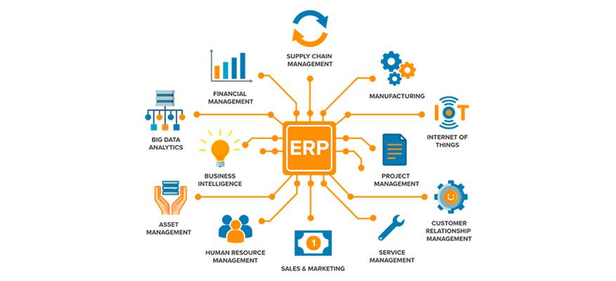 những yếu tố trong ERP