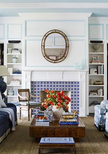 phong cách phòng khách maroc