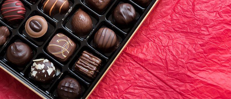 quà tặng valentine chocolate