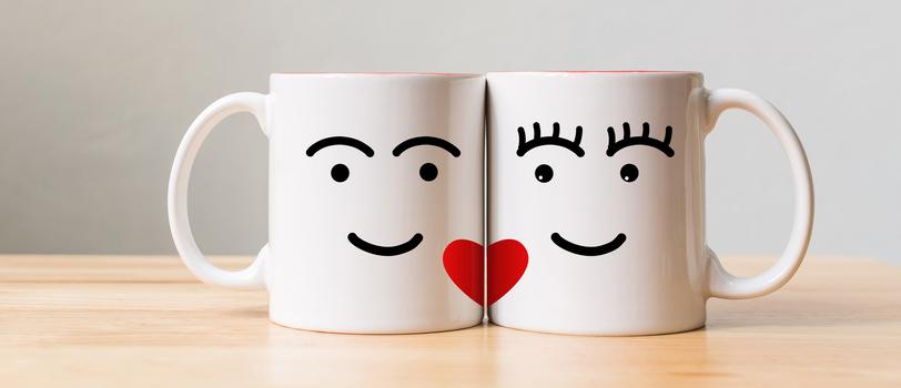 quà tặng valentine cốc đôi