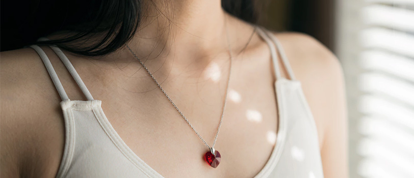 quà tặng valentine vòng cổ