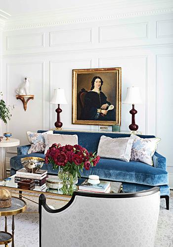 tô điểm màu sắc rực rỡ với đồ nội thất