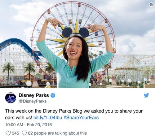 chiến dịch Marketing Online của Disney
