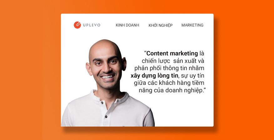 định nghĩa khác về content marketing