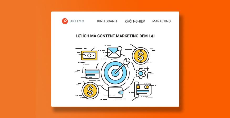 lợi ích mà content marketing đem lại