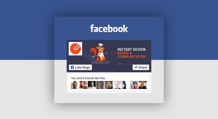 nhúng widget like của Facebook vào website