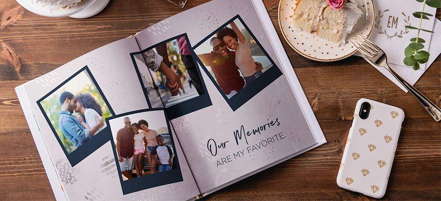 quà tặng kỷ niệm ngày cưới album ảnh