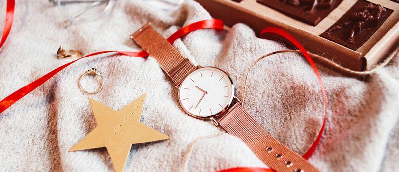 tặng đồng hồ noel giáng sinh