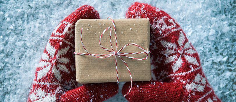 tặng găng tay noel giáng sinh