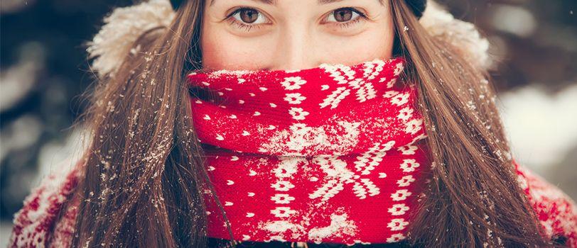 tặng khăn quàng cổ noel giáng sinh