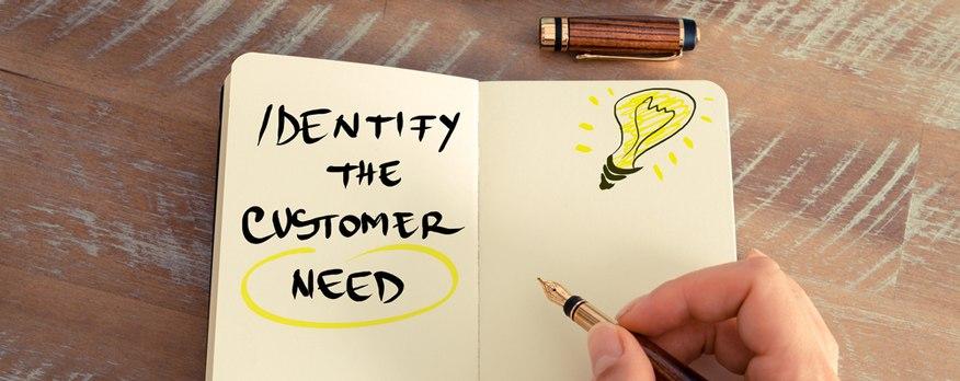 xác định nhu cầu và mong muốn của khách hàng