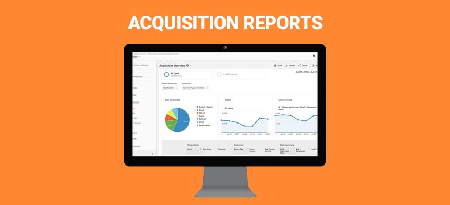acquisition reports báo cáo chuyển đổi