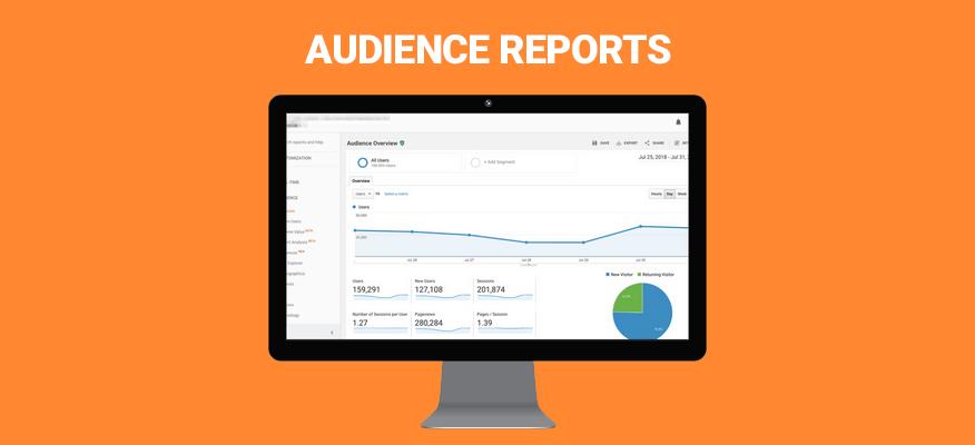 Audience Reports báo cáo đối tượng