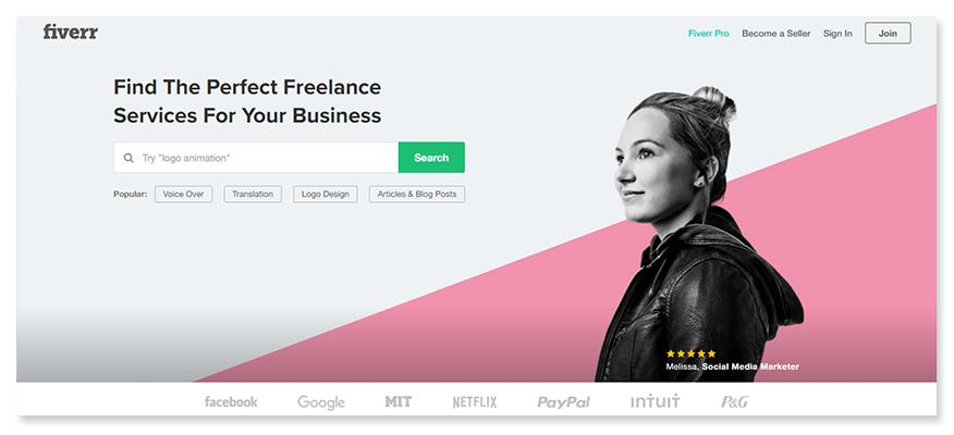 freelancer website fiverr