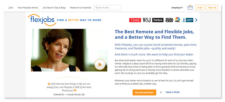 freelancer website flexjobs