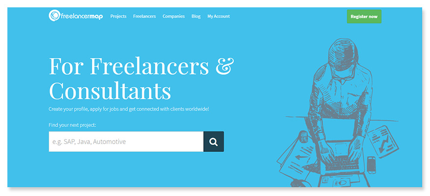 freelancer website freelancermap