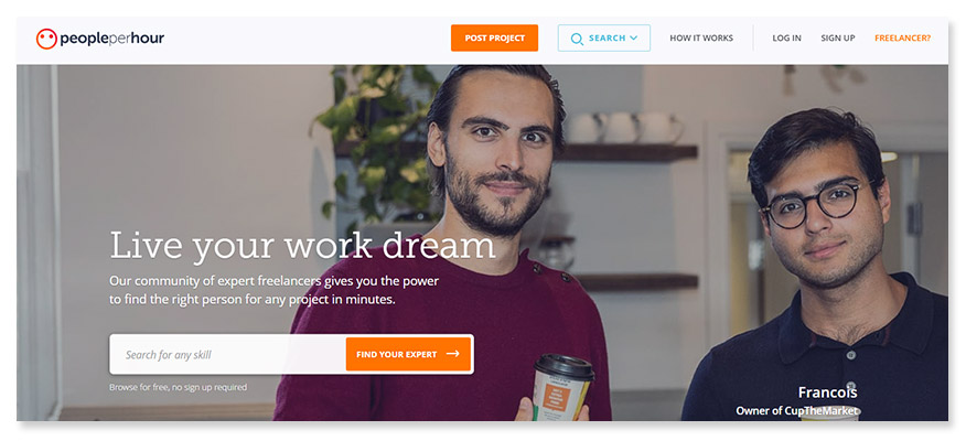 freelancer website People Per Hour