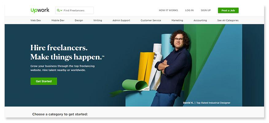 freelancer website Upwork