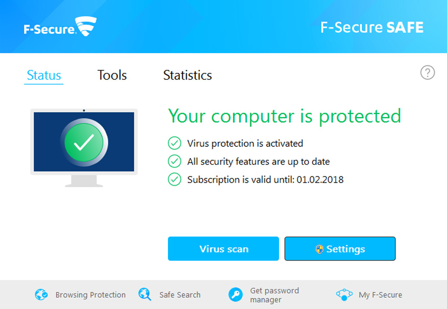 phần mềm diệt virus F-Secure Antivirus