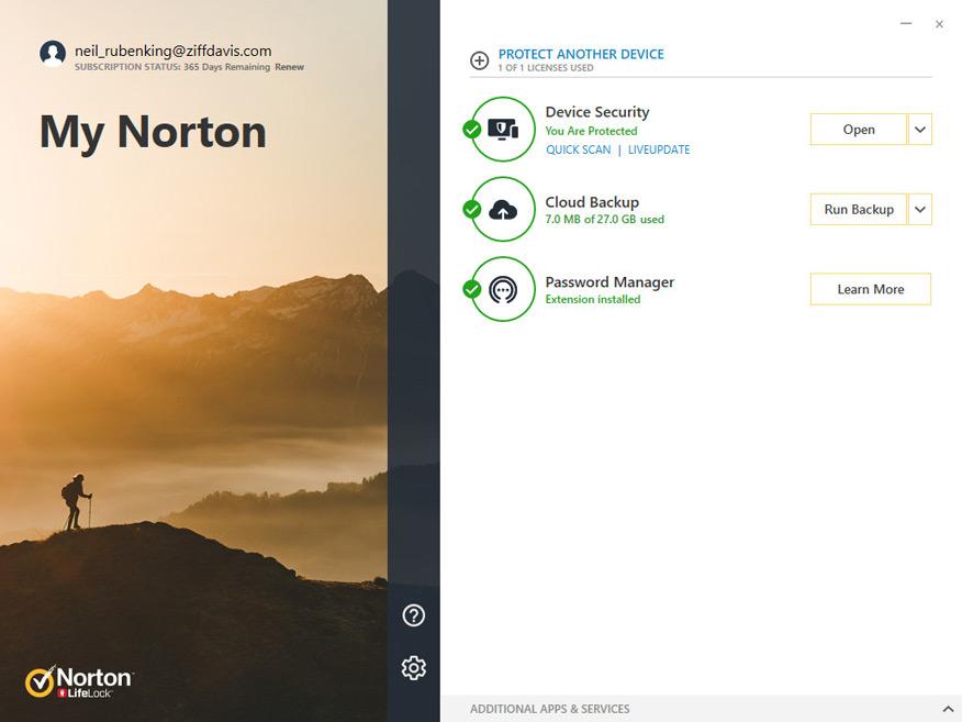 phần mềm diệt virus Norton Antivirus Plus