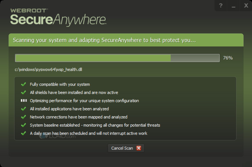 phần mềm diệt virus Webroot Antivirus
