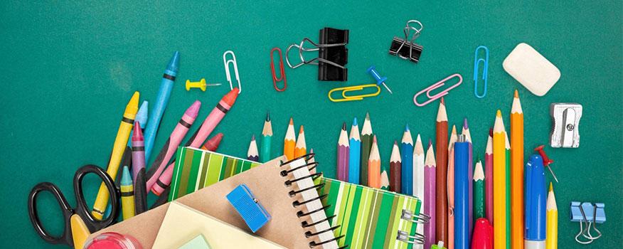 quà tặng 1/6 đồ dùng học tập