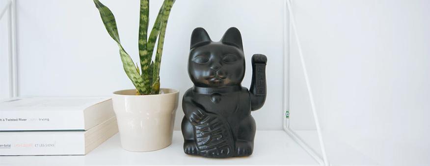 quà tặng tân gia mèo thần tài