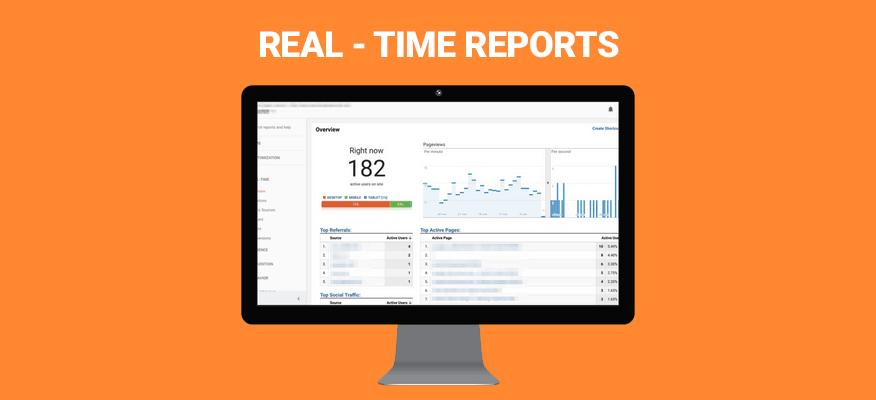 real-time reports báo cáo thời gian thực