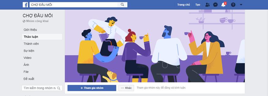 các group facebook khác