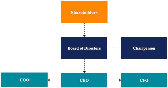 cấu trúc thường gặp của một doanh nghiệp