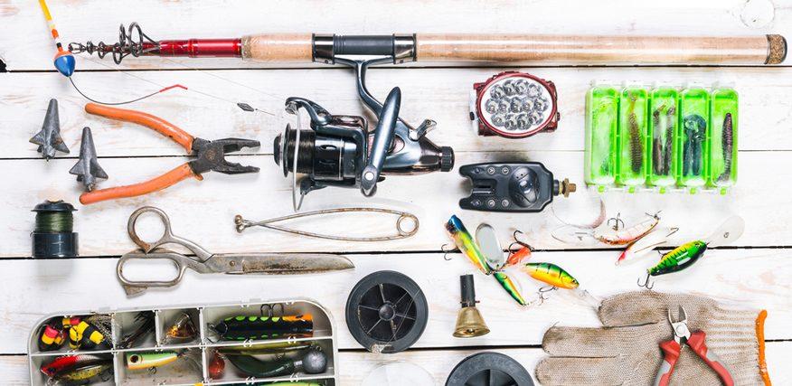 cung cấp trang thiết bị câu cá