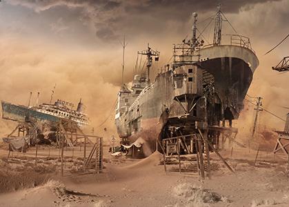 ảnh 3D đẹp con tàu