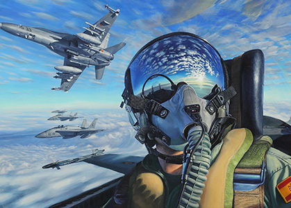 Ảnh nền 3D phi công