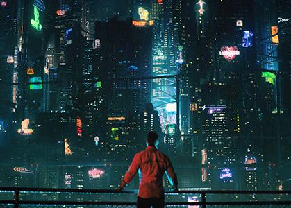 Ảnh nền 3D thành phố đẹp