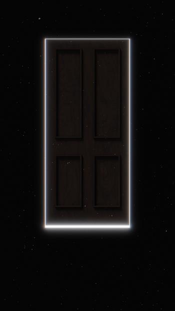 hình 3D cánh cửa