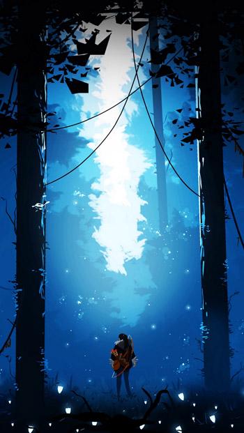 Ảnh 3D đẹp về khu rừng