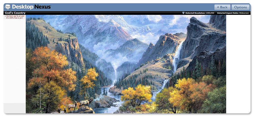 kho hình ảnh nền 3D đẹp Desktopnexus