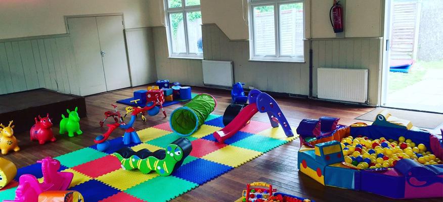 mở khu vui chơi cho trẻ em