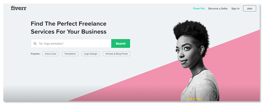 website Fiverr