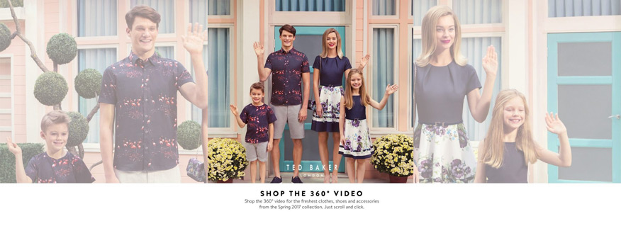 chiến dịch digital marketing của Ted Baker