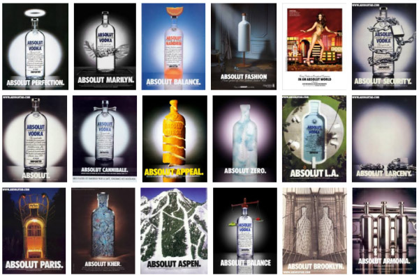 chiến dịch Marketing Absolut Vodka