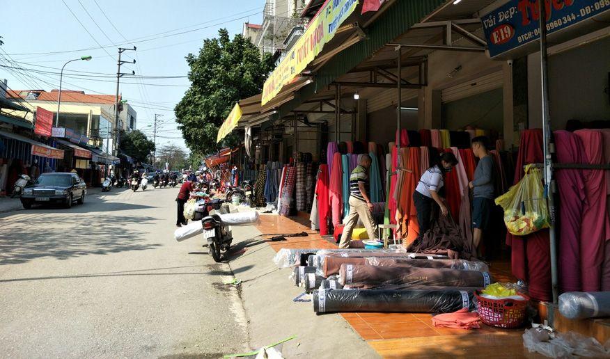 lấy sỉ quần áo ở chợ Ninh Hiệp