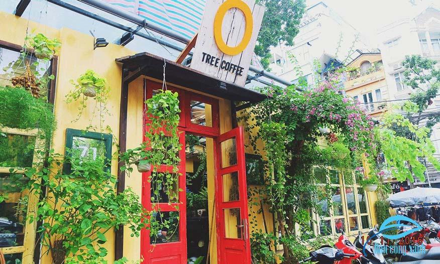 quán cafe cây nhỏ xinh