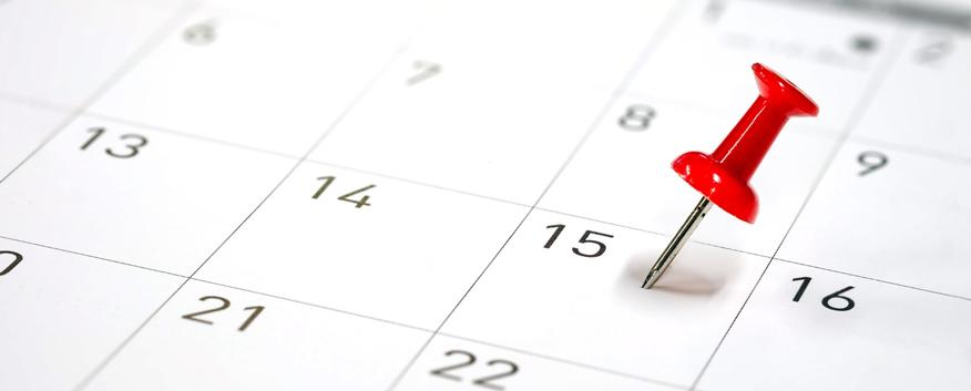 sắp xếp thời gian cho cuộc hẹn tiếp theo