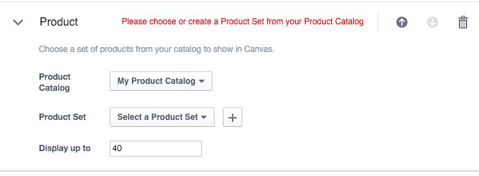 tạo canvas bộ sản phẩm