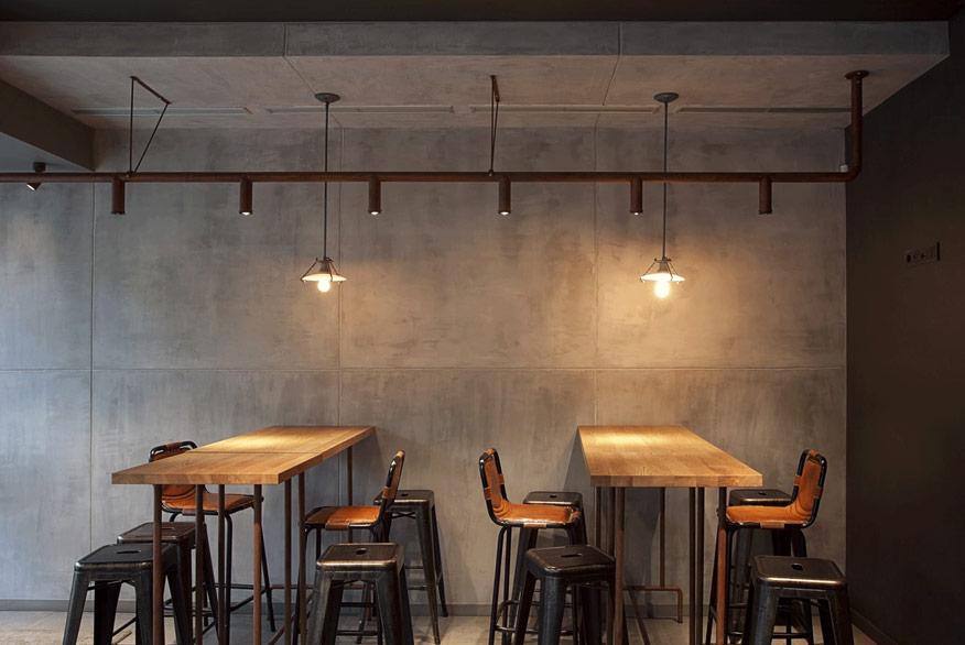 tạo điểm nhấn cho quán cafe