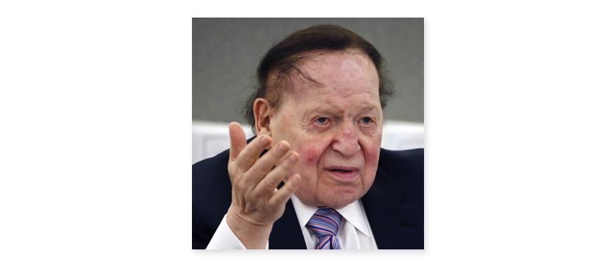 tỷ phú Sheldon Adelson