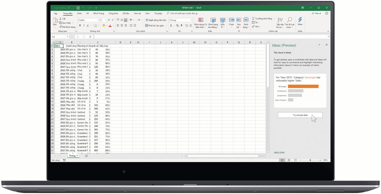 Cẩn trọng khi sử dụng Excel trong quản lý kho hàng